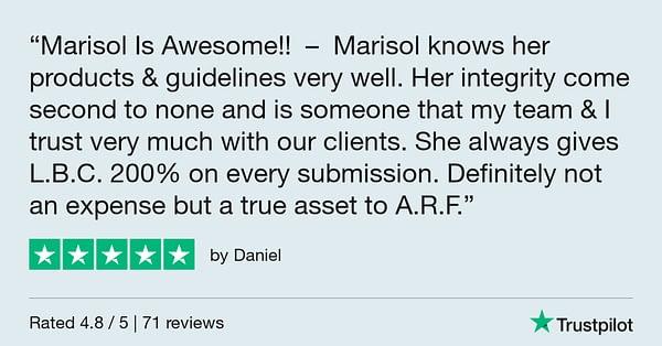 Trustpilot Review - Daniel