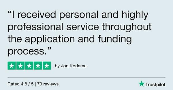 Trustpilot Review - Jon Kodama