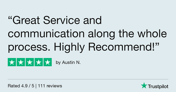 Trustpilot Review - Austin N.