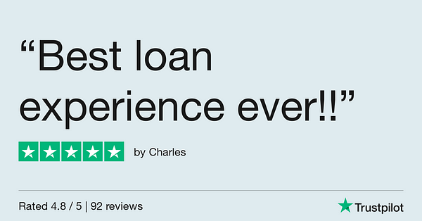 Trustpilot Review - Charles