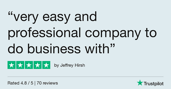 Trustpilot Review - Jeffrey Hirsh