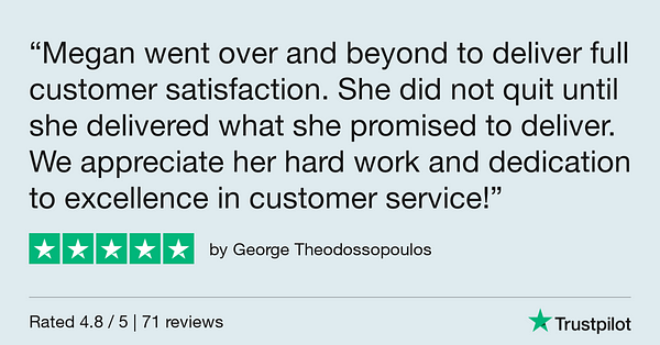 Trustpilot Review - George Theodossopoulos