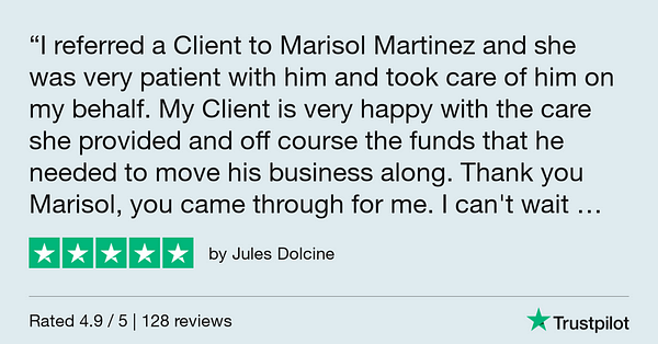 Trustpilot Review - Jules Dolcine