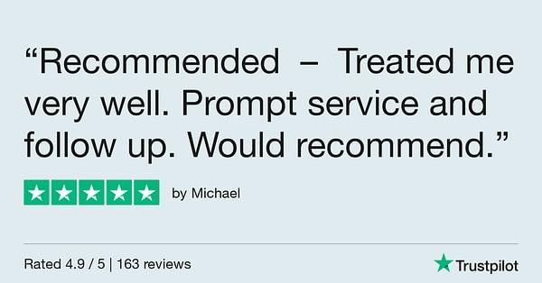 Trustpilot Review - Michael(1)