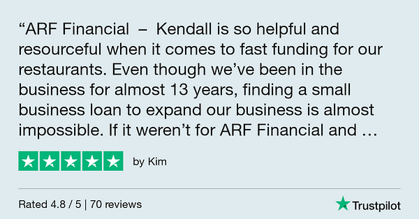 Trustpilot Review - Kim