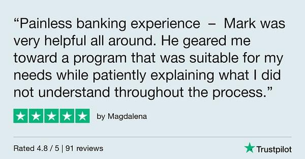 Trustpilot Review - Magdalena