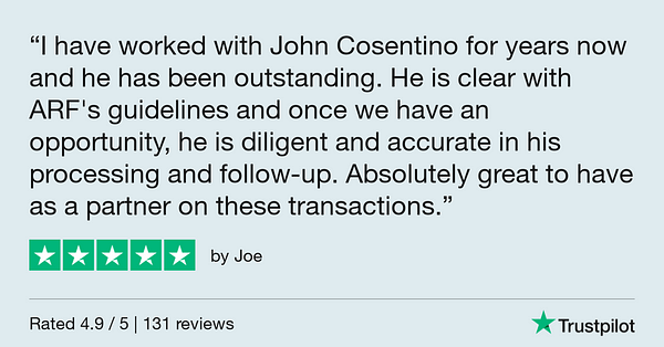 Trustpilot Review - Joe