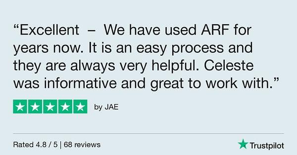 Trustpilot Review - JAE