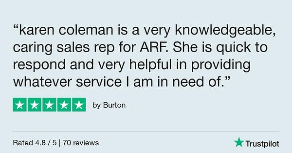 Trustpilot Review - Burton