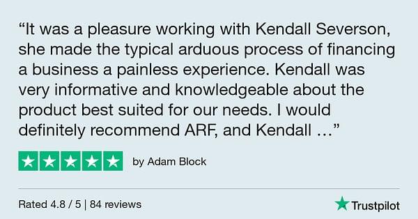 Trustpilot Review - Adam Block
