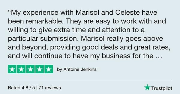 Trustpilot Review - Antoine Jenkins