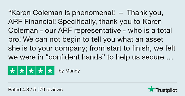 Trustpilot Review - Mandy